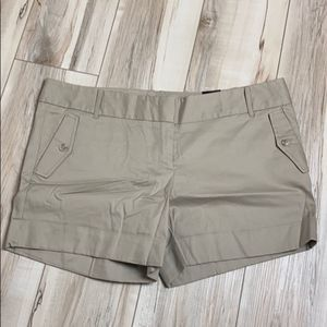 The Limited Cotton Tan Shorts